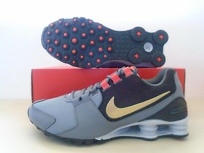 New Nike Shox Avenue Grey Silver Black Glold  Running Shoes sz 11.5