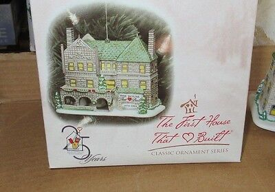 Dept. 56 Classic Ornament Series Ronald Mcdonald First House That Love Built Box