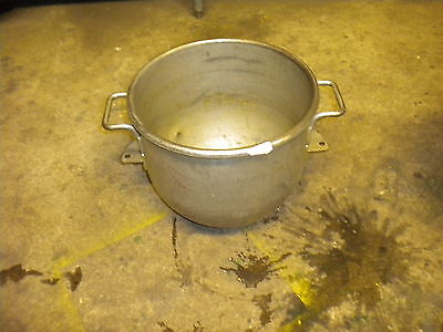 A53 Hobart Galvanized 30Qt Mixer Bowl Restaurant Bakery Commercial Heavy Duty!