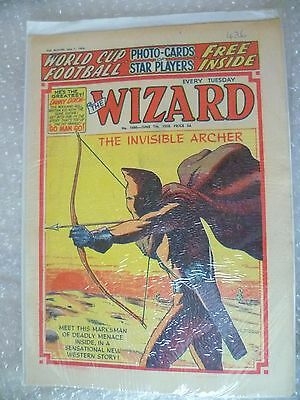Comic- The Wizard Comic No.1686 7th June 1958