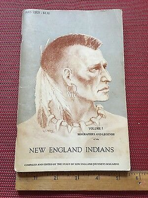 1969 New England Indians Biographies and Legends Leo Bofanti Vol 1