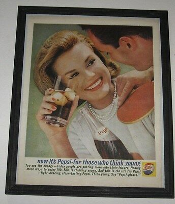 Pepsi Think Young  -Framed