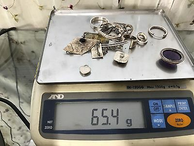 Sterling Silver .925 Usable Fixable or Scrap 65.4 grams #19
