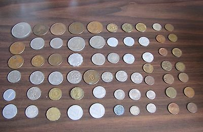 ( 64 ) Foreign Coins Lot