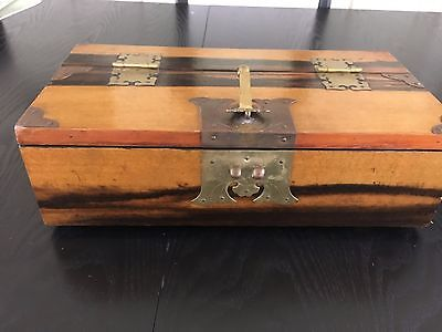Decorative Asian Box with Lock