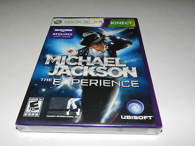 Michael Jackson The Experience Microsoft Xbox 360 Video Game New Sealed
