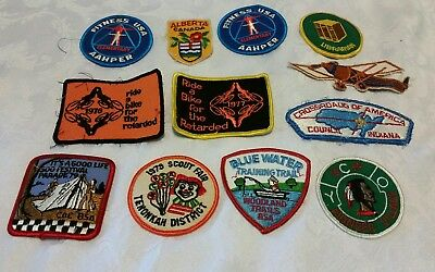 Lot of Vintage BSA Patches