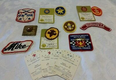 Lot of 1970s BSA Patches