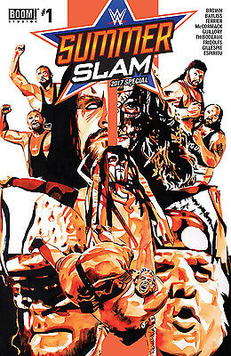 WWE SUMMER SLAM 2017 #1 B&B NM 1st Print