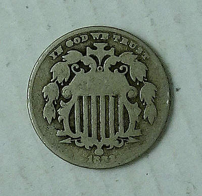 Shield Nickel; 1883