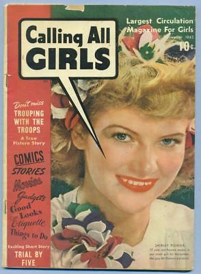 Parents' Magazine Institute Nov 1943 Calling All Girls # 23 Gd/vg