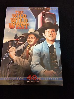 The Wild West Complete First Season DVD Collectors 40th Anniversary Edition New