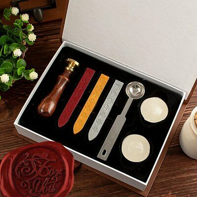 School Wax Seal Stamp Box Hogwarts Badge Vintage Xmas Gift Toy Set