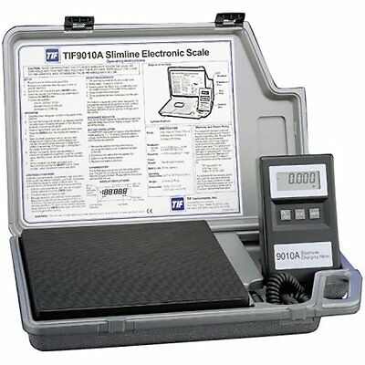 Tif9010A Slimline Refrigerant Electronic Charging/Recover Scale NEW
