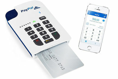 PAYPAL HERE BLUETOOTH MOBILE CHIP & PIN CARD READER for iPAD iPHONE