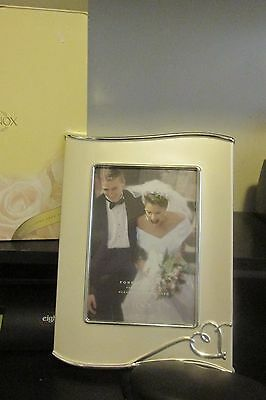 """Lenox Forevermore Silver Plate  5 X 7"""" Photo Frame New In Box"""