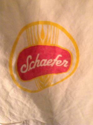 Rare  Schaefer Beer Item--1970's Chef Apron--Never Used