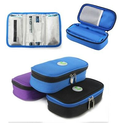 Insulin Pen Case Pouch Cooler Cold Travel Diabetic Pocket Cooling Protector Bag