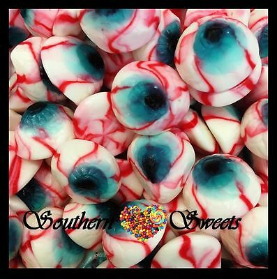 Vidal Bloody Eyes Halloween Lollies 1Kg Approx 105Ct Gluten Free Lollies