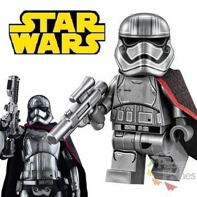 Captain Phasma Maßgeschneidert Minifigur Passt Lego Star Wars Force Awaken X146
