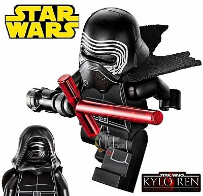 Kylo Ren Maßgeschneidert Minifigur Passt Lego Toy Star Wars The Force AwakenX144