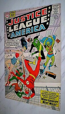 Justice League of America #5 NM- 9.2 Cr/OW Unrestored 1961 DC 1st Dr. Destiny