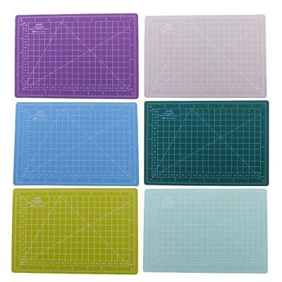 A5 Size Cutting Mat PVC Cutting Board Printed Grid Line Board for Crafts 15x22cm