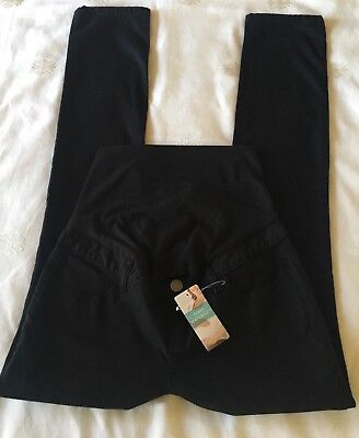 Ladies TARGET Black Stretch Maternity Jeans. Size 8. NWT