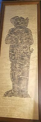 Beautful Antique Tomb Rubbing On Rice Paper?