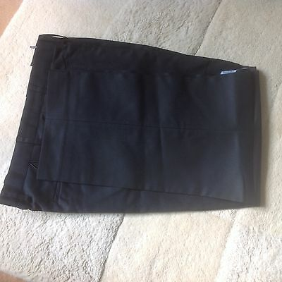 20 pairs black work trousers various sizes