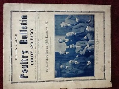 The New Zealand poultry bulletin 1929