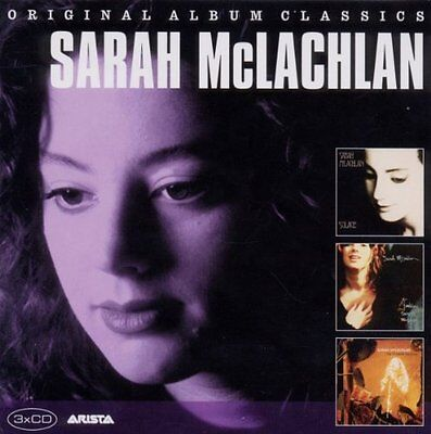 Sarah McLachlan  Solace / Fumbling Towards Ecstasy / The Freedom Sessions 3CD OV