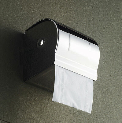 Wall Mounted Length12CM Bathroom Waterproof Toilet Roll Paper Tissue Box Holder