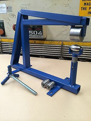 Bench Or Vice English Wheel With Anvils, Complete Setup, Wheeling Machine