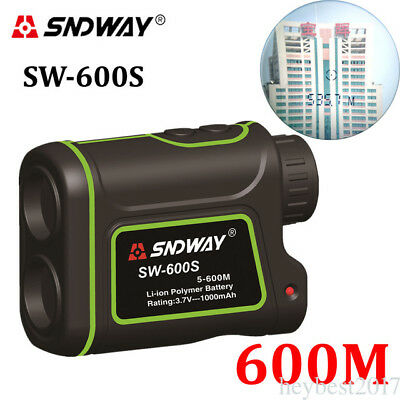 SNDWAY 600m Telescope Range Finder Rangefinder Distance Meter Waterproof he17