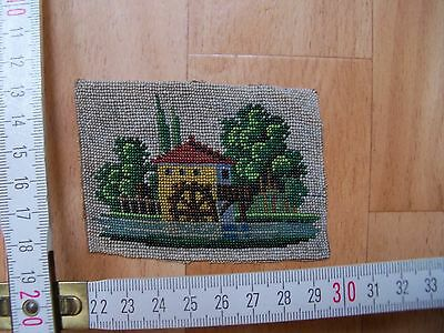 Picture made of old Czech beads.