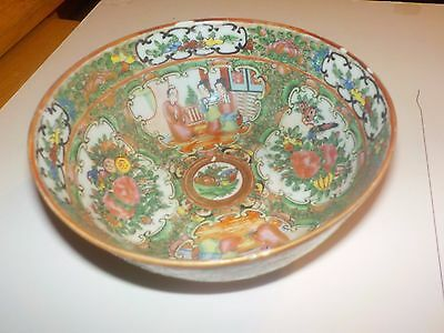 Chinese Rose Medallion Soup Bowl