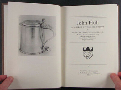 Antique American Silver by John Hull - Massachusetts Colonial Silversmith