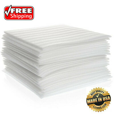 25 Count Cushion Foam Sheets 12x12 Packing Moving Shipping Supplies Safely Wrap