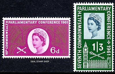 QEII 1961 7th Commonwealth Parliamentary Conference SG629 -  630 Unmounted Mint