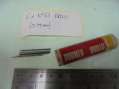 Engineers Drill Bits #61