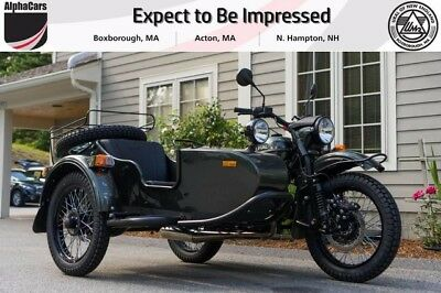 2017 Ural Gear Up 2WD Cascade Green  Brand New Color Brembo Brakes EFI Reverse Gear Financing & Trades