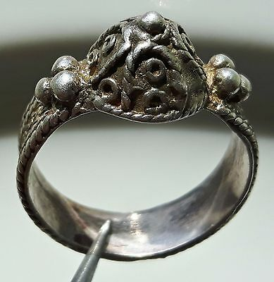 Silver Roman Ring Ancient Jewelry ** Fertility ** Rare !!