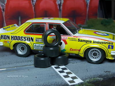 1/32 URETHANE SLOT CAR TIRES 2pr PGT-20104 fit Scalextric Torana