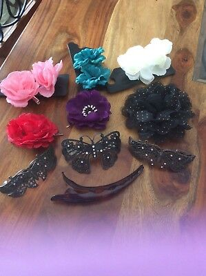 Mixed Hair Accessories Clip Flower New