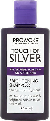 150ml Pro voke Touch of Silver Professional Twice a Week Brightening Shampoo