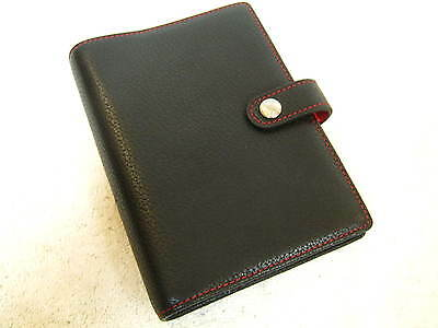 "Coach Krause Black Leather Note Pad "" New "" 100 % Authentic Coach, Must See"