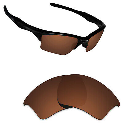 439b021e92 Hawkry Polarized Replacement Lenses for-Oakley Half Jacket 2.0 XL Bronze  Brown