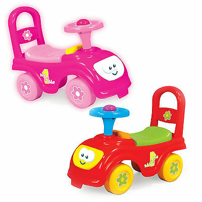 My First Ride On Kids Toy Cars Girls Boys Push Along Toddlers Infants 12 Months+