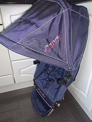 iCandy Cherry SEAT UNIT Frame with cover & hood Navy Blue Union Jack Limite Edit